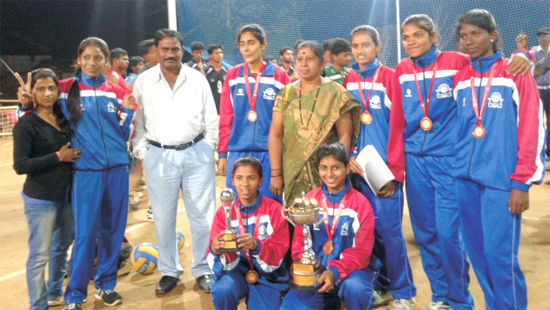 Received Gold Medal in Volleyball (W) at TNAU, Coimbatore